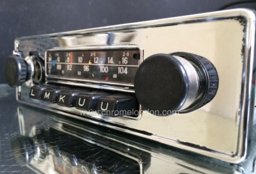 blaupunkt frankfurt vintage classic car fm radio mp3 see. Black Bedroom Furniture Sets. Home Design Ideas